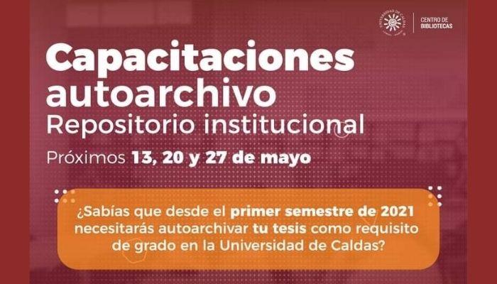 Capacitaciones en Autoarchivo para Repositorio Institucional