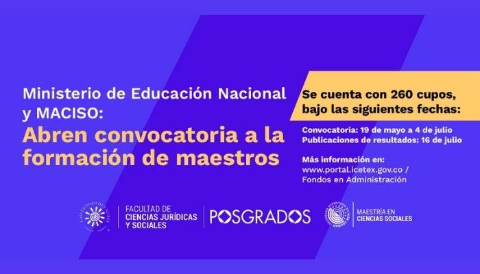 """Participe en la convocatoria """"Directivos líderes y docentes que transforman"""""""