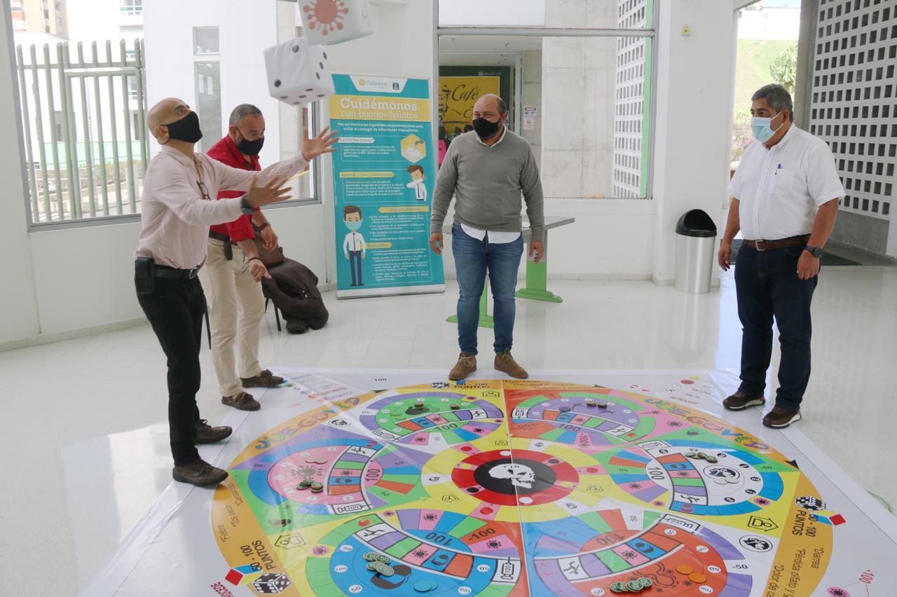 Profesor de la Umanizales crea juego de mesa para incentivar el autocuidado de los ciudadanos relacionado con el Covid-19