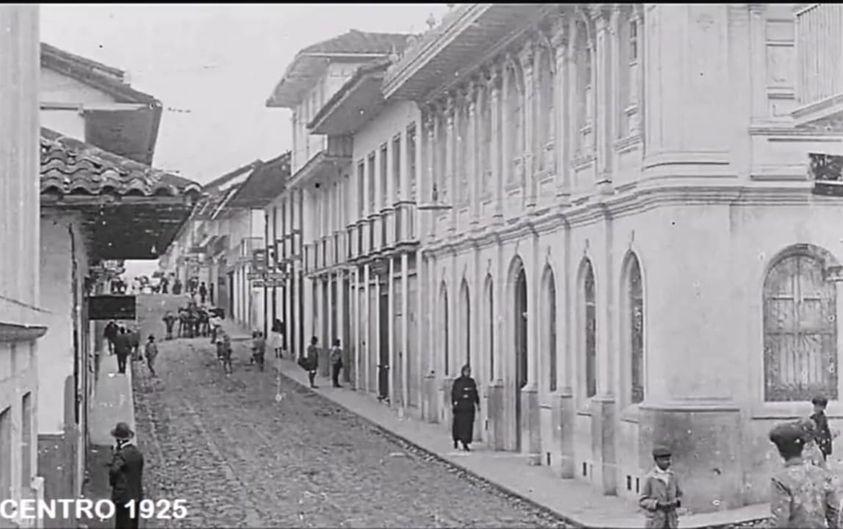 Centro de Manizales en 1925