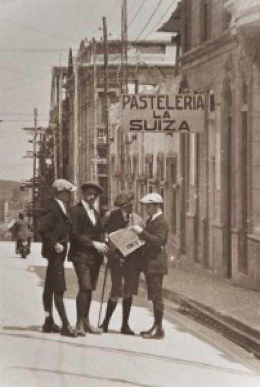 Pastelería La Suiza 1958