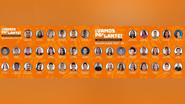 44 estudiantes UAM, beneficiados con becas Vamos Pa'lante para el primer periodo de 2021