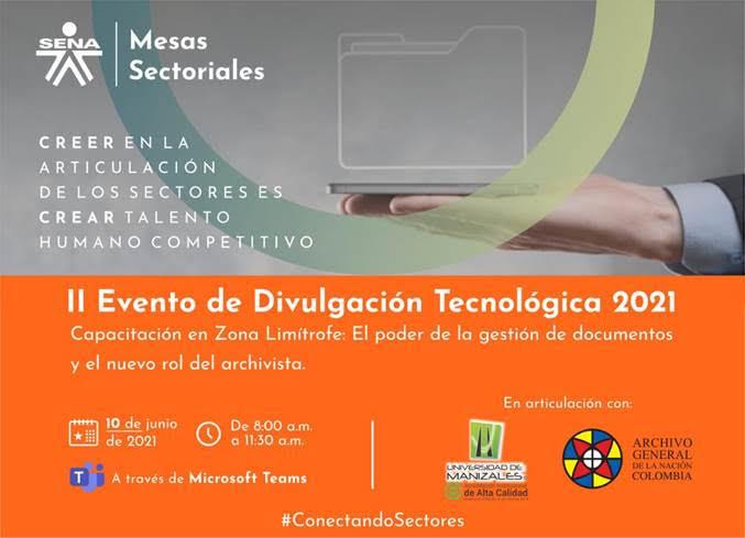 El poder de la gestión de documentos y el nuevo rol del archivista, tema del evento en el que participará la UManizales