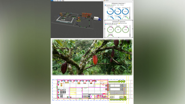 Estudiante UAM diseña planta de transformación de cacao para el Chocó