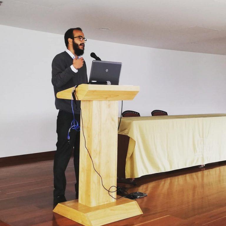 Giovanny Gaitán Arias, un psicólogo comprometido con las causas sociales
