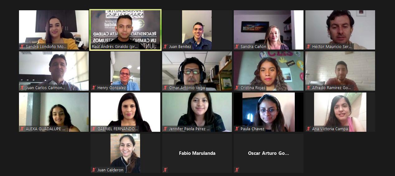 La Umanizales recibió 18 estudiantes de pregrado nacionales y extranjeros que hacen movilidad de investigación