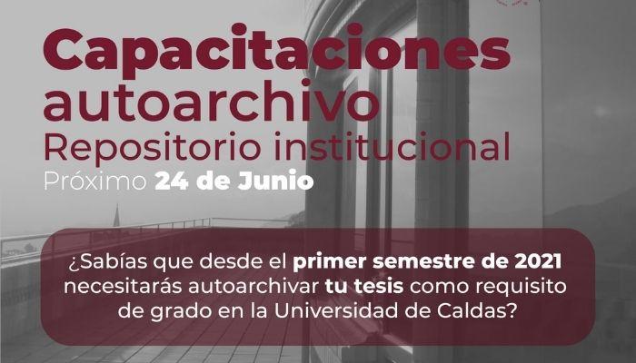 Nueva capacitación en Autoarchivo para Repositorio Institucional