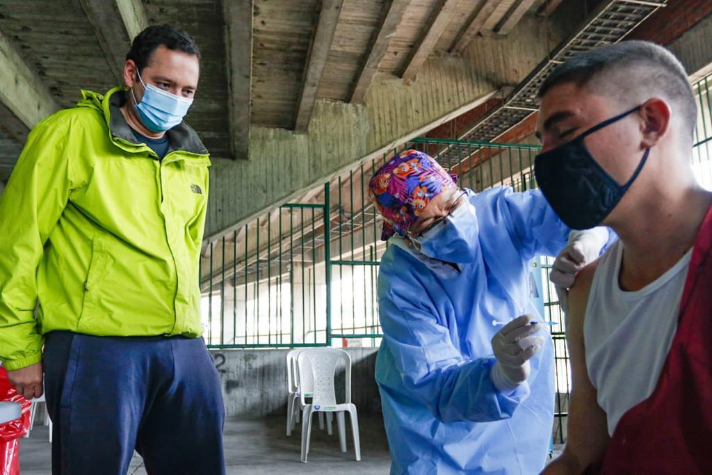 En una jornada de dos días, Manizales vacunó el 30 % de sus habitantes en condición de calle