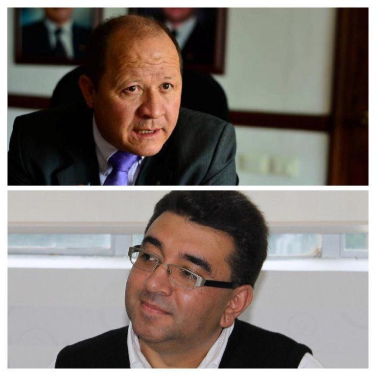 Guillermo Orlando Sierra y Jaime Alberto Restrepo en el ciclo de conversatorios del Doctorado en Psicología de la Umanizales este jueves 15 de julio