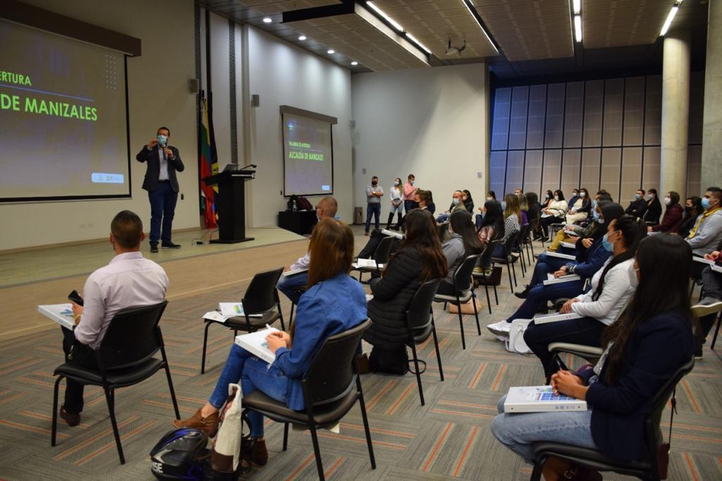 Inicia Joven Manizaleño Más Emprendedor para fortalecer el liderazgo empresarial.