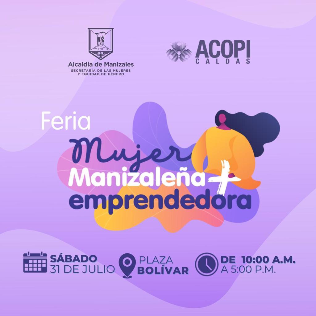 La Feria del Emprendimiento se toma hoy la Plaza de Bolívar de Manizales