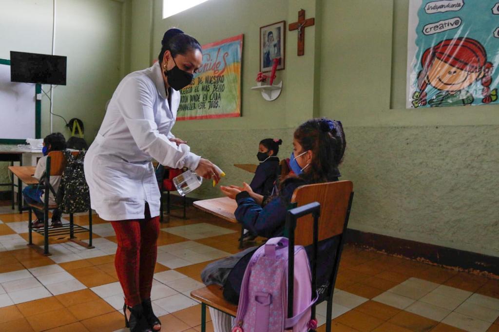Manizales comenzó su regreso paulatino a clases escolares