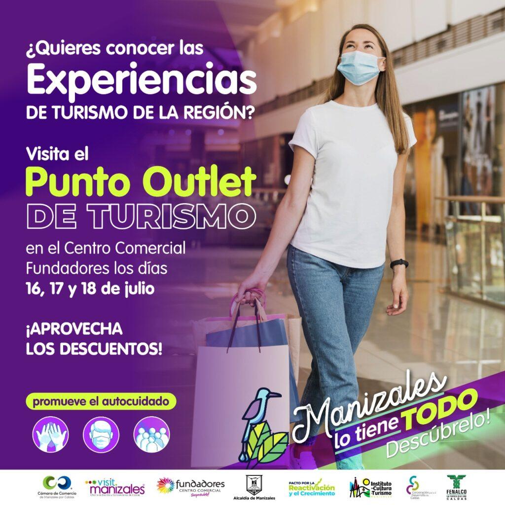 Punto Outlet de Turismo, una iniciativa comercial que promueve la reactivación de este sector en la región