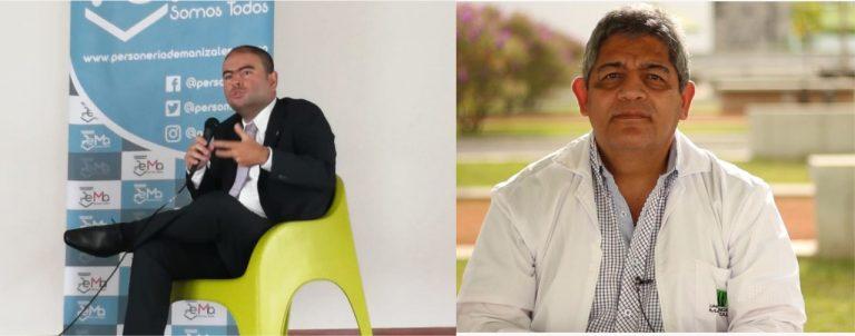 Rodrigo Giraldo es el nuevo decano de la Facultad de Ciencias Jurídicas de la UManizales y Diego Hernández el nuevo director del Doctorado en Desarrollo Sostenible