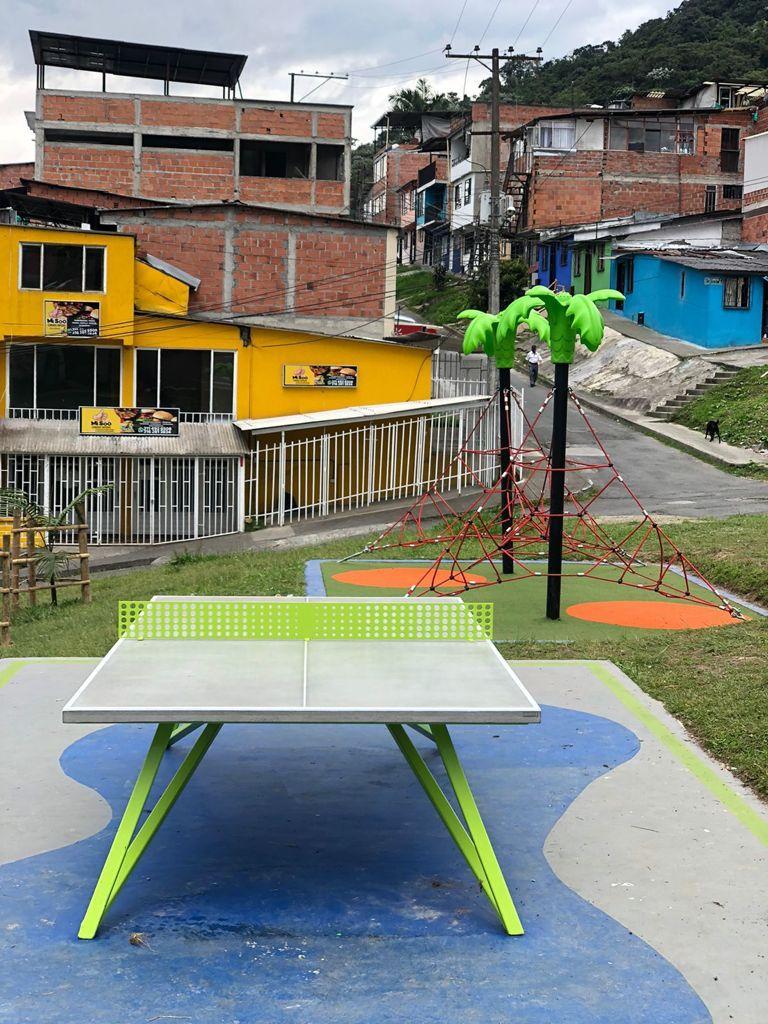 Barranquillo, Tucancito Esmeralda y Gorrión, tres parques de La ruta de las aves que fueron inaugurados en Manizales