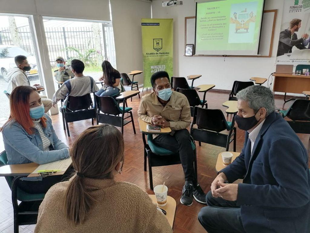 Café Un Manizaleño empezó a escalar en la caficultura local