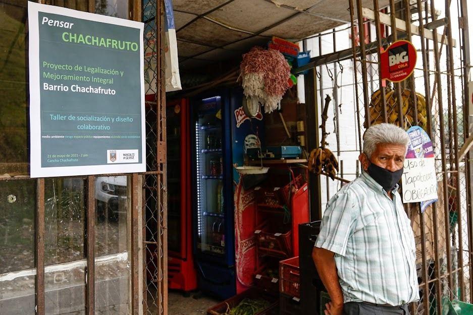 Chachafruto, más cerca de ser un barrio legalizado