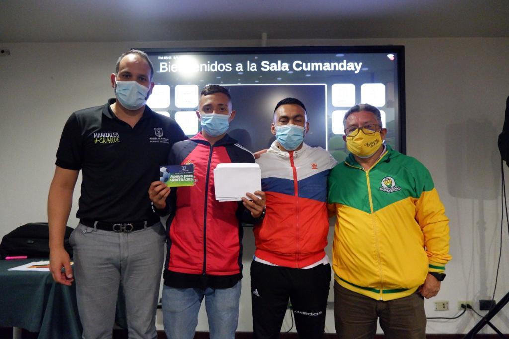 Con ayudas económicas, clubes y semilleros deportivos fueron respaldados por la Secretaría del Deporte