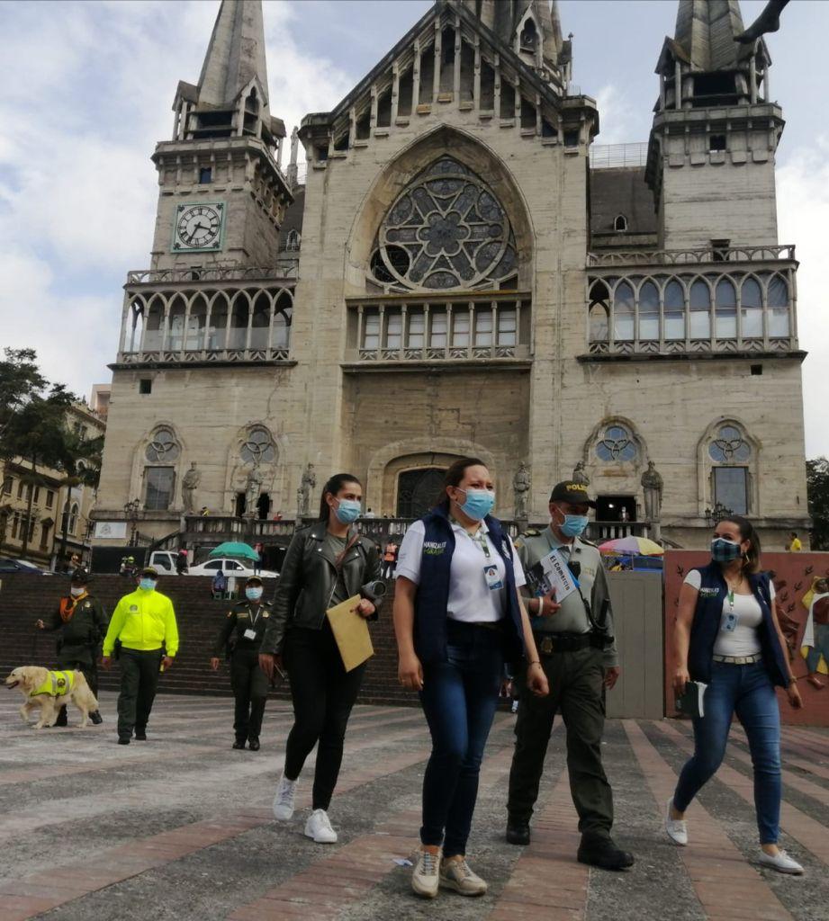 Cuida el Centro Histórico, una campaña para recuperar este sector emblemático de Manizales.