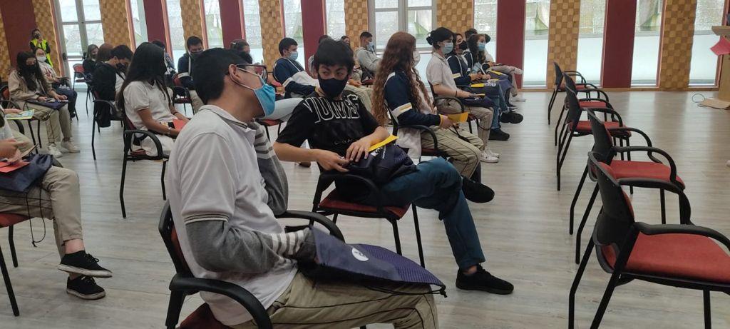 Estudiantes de colegio conocieron el proyecto Manizales Campus Universitario