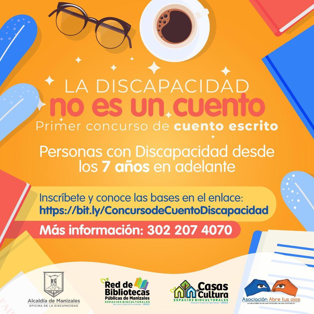 La Oficina de la Discapacidad y la Asociación Abre tus Ojos invitan a participar en el concurso La Discapacidad no es un Cuento,