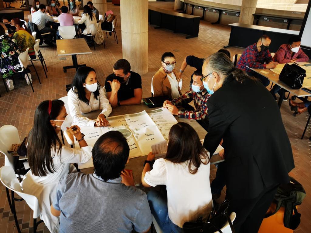 La Secretaría de Planeación continúa con sus jornadas de formación mediante un taller de cocreación