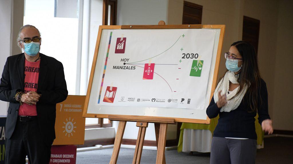 Manizales hace equipo con el PNUD por los Objetivos de Desarrollo Sostenible.