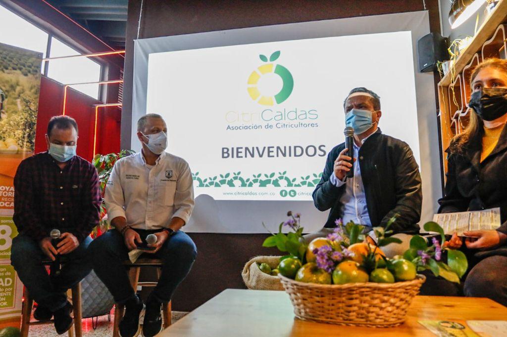 Nacida del Pacto por la reactivación, Manizales tendrá su I Semana Citrícola, en alianza con empresas, gremios y academia