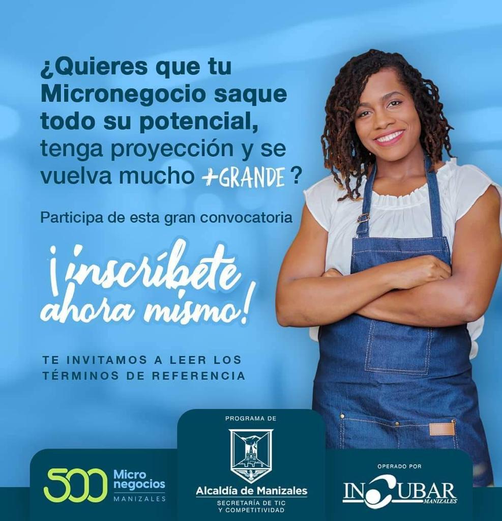 Programa 500Micronegocios abrió su cuarta convocatoria para emprendedores o microempresarios