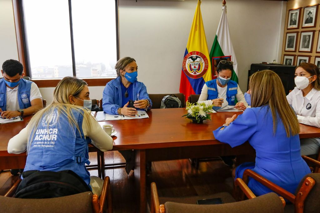 Se realiza encuentro con la Agencia de la ONU para los Refugiados