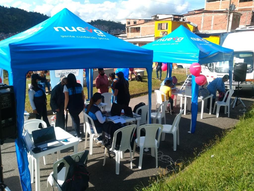 Secretaría de Salud Pública acompaña la jornada de la Ruta Saludable por Manizales.