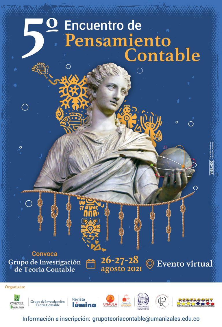 UManizales realiza V Encuentro de Pensamiento Contable del jueves 26 al sábado 28 de agosto