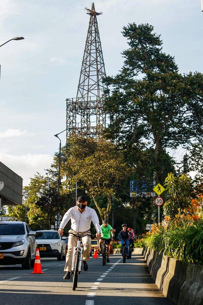 A las 6:00 a.m. de hoy inició el Día sin Carro Voluntario en Manizales.