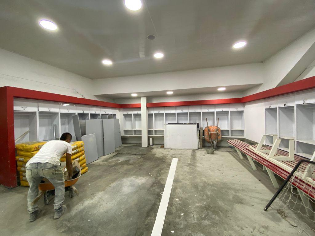 Así avanzan las obras de infraestructura que se ejecutan en escenarios deportivos de Manizales.