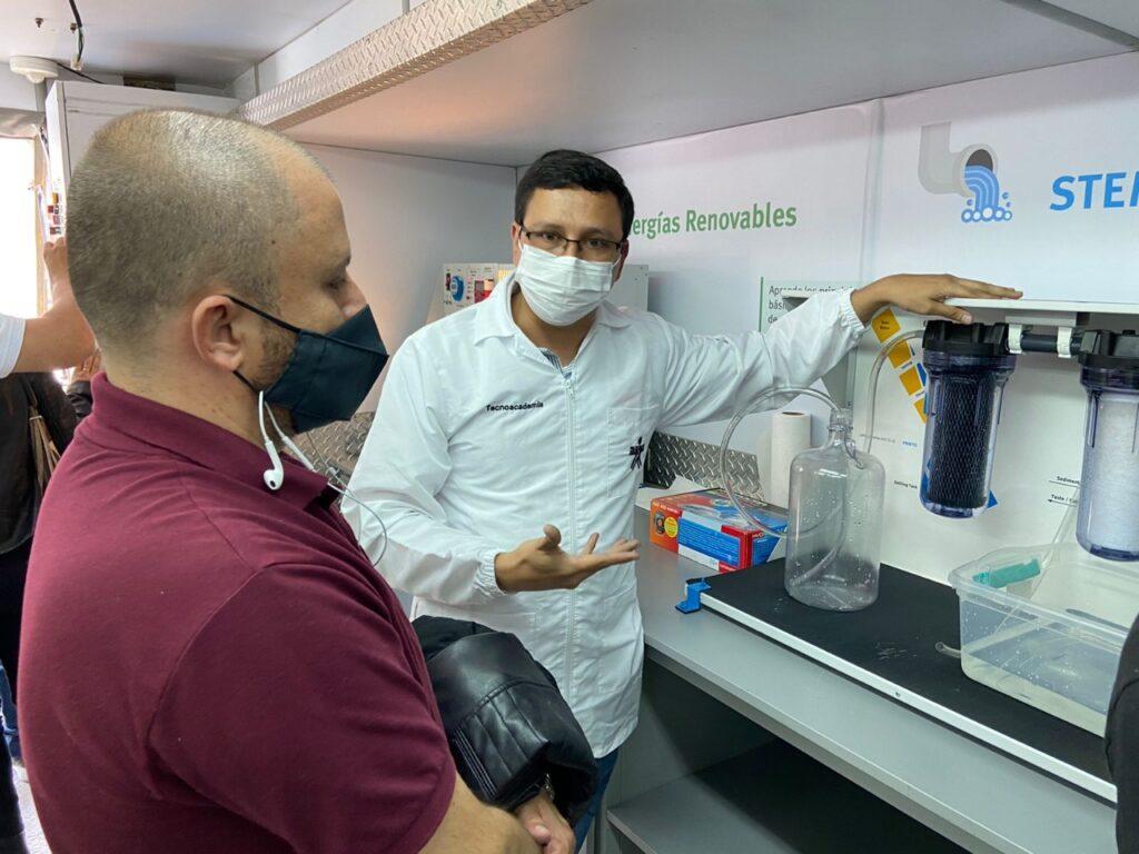 Aula Móvil llegó a Caldas a reforzar Tecnoacademia Itinerante, estrategia que busca integrar a jóvenes con las tecnologías 4.0