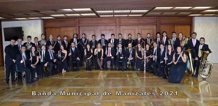 Banda Municipal de Manizales nuevamente campeona en concurso nacional de banda en Bogotá, Cundinamarca.