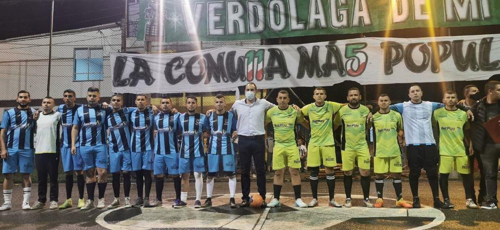 Comienzan las semifinales del Torneo de Fútbol Callejero