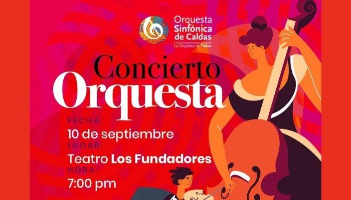 Concierto de temporada de la Orquesta Sinfónica de Caldas
