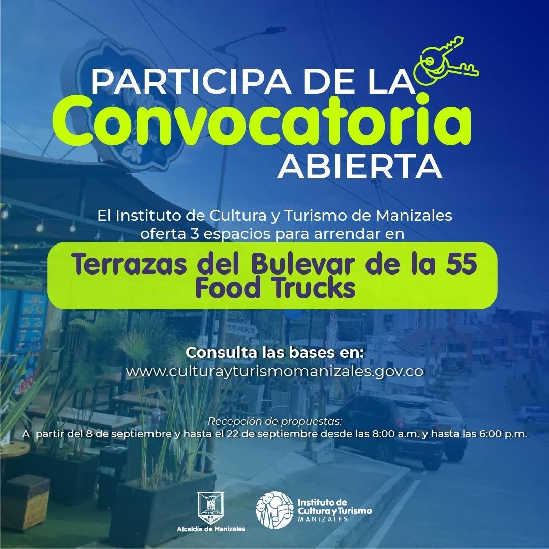 Convocatoria para alquilar módulos comerciales en diferentes espacios de la ciudad