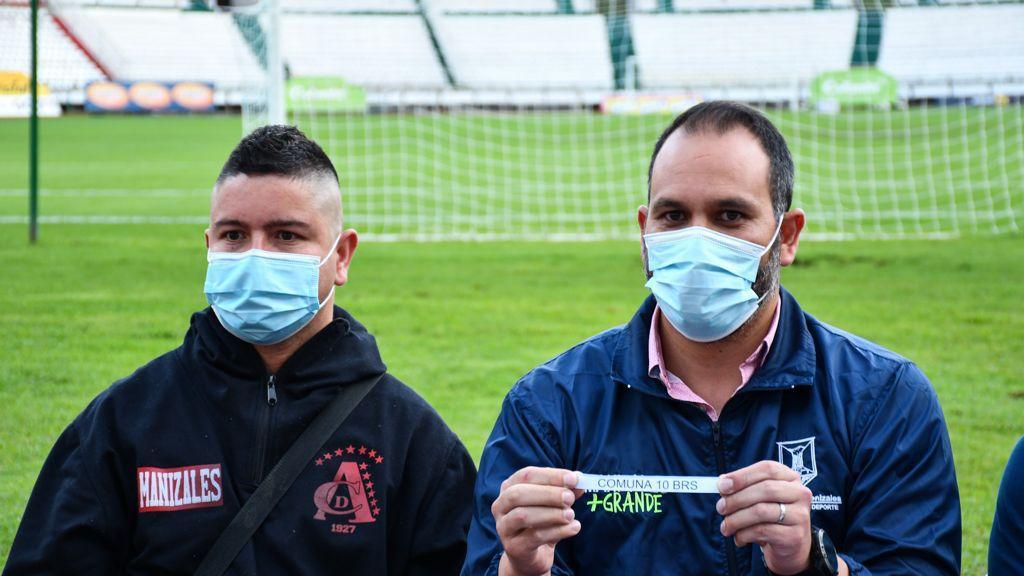 Este viernes se realizó en el Estadio Palogrande el sorteo de las llaves semifinales del Torneo de Fútbol Callejero Manizales Más Grande