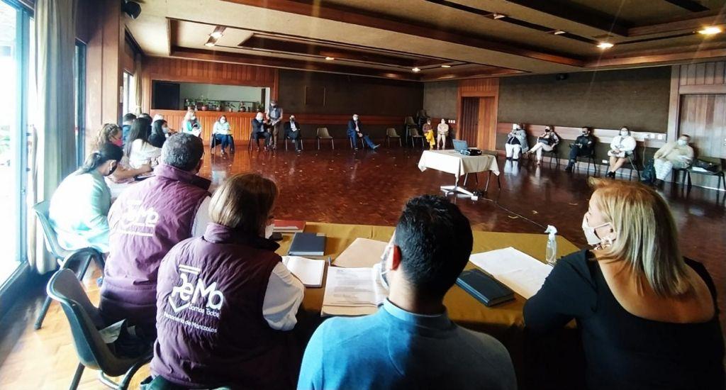 Estudiantes del Inem volverán a la presencialidad en las aulas del Liceo Isabel La Católica.