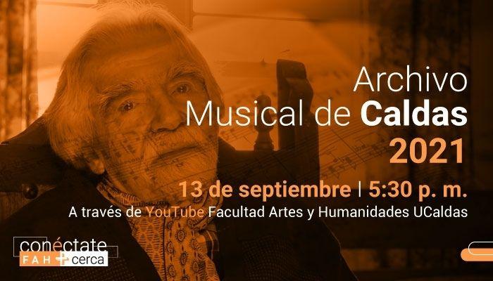 Guillermo Rendón García en el Archivo Musical de Caldas