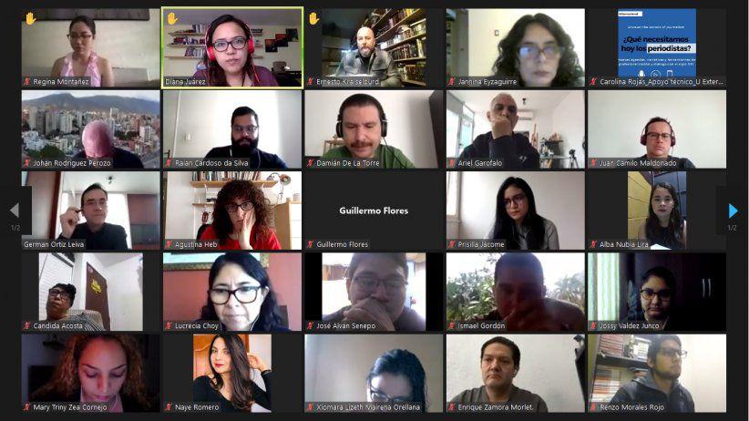 Inicia con éxito diplomado SIP/CLAEP para periodistas