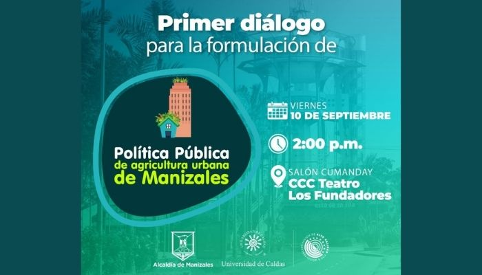 Jardín Botánico U. de Caldas participa en el desarrollo de la política pública de Agricultura Urbana en Manizales