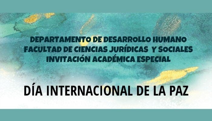 Jornada de conmemoración del Día Internacional de la Paz