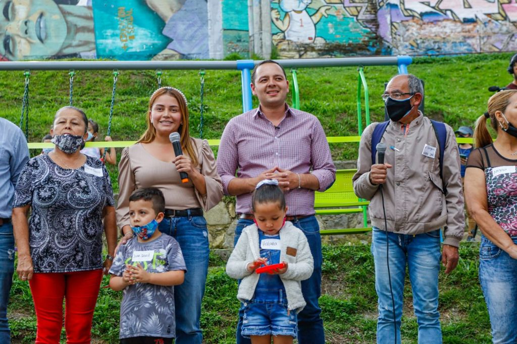 La Ruta de las Aves sigue creciendo. Con Batará Grande son un total de ocho parques inaugurados en las últimas semanas por el alcalde Carlos Mario Marín Correa