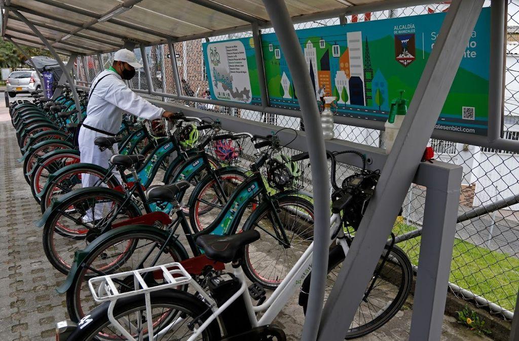 Las bicicletas públicas, una opción para movilizarse este miércoles 22 de septiembre, Día sin Carro Voluntario.