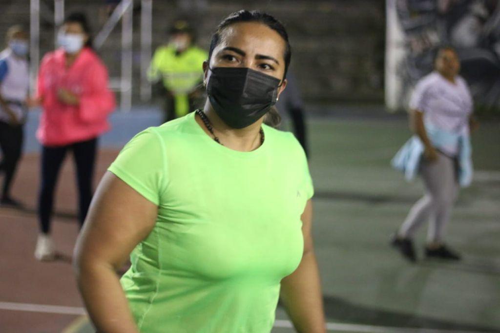 En las canchas aledañas al Estadio Palogrande, Caldas y Manizales se activan por una vida sana