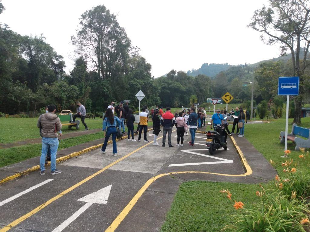 Los agentes de tránsito de Manizales se siguen capacitando. Esta vez se forman en Policía Judicial.