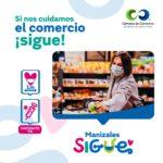 Manizales Sigue, la campaña de la Cámara de Comercio de Manizales por Caldas que promueve la reactivación con protocolos